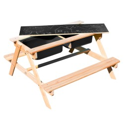 Dual Top 2.0 Zand & Water Picknicktafel - Limited Edition