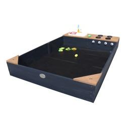 Kelly Zandbak met Speelkeuken Antraciet/bruin