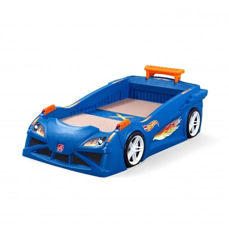 Hot Wheels Race Car Bed
