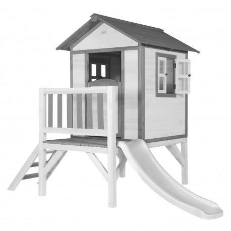 Lodge XL Speelhuis Klassiek - Witte Glijbaan