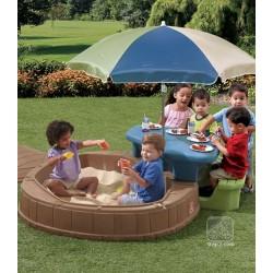 Summertime Sandkasten und Picknicktisch
